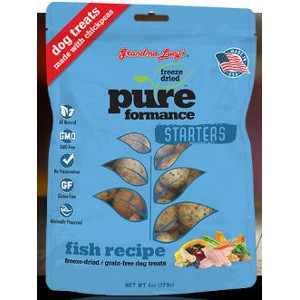 Pureformance Fish Starters Freeze-Dried Dog Treats