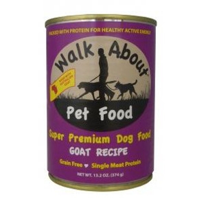 Walk About Super Premium Dog Food Goat Recipe