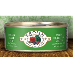 Fromm Four-Star Nutritionals Chicken & Duck Pate 5.5 Oz.
