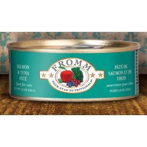 Fromm Four-Star Nutritionals Salmon & Tune Pate 5.5 Oz.