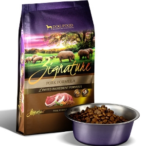 Zignature Pork Formula Dry Dog Food 27 Lb.