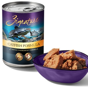 Zignature Catfish Formula Wet Dog Food
