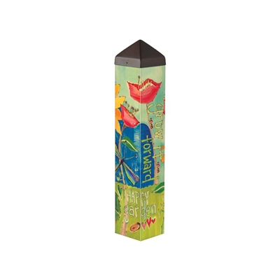 Studio-M 'Happy Garden' 20 inch Art Pole