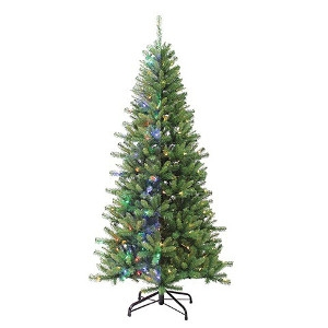 7' Ozark Pine Pre-lit LIfelike Tree