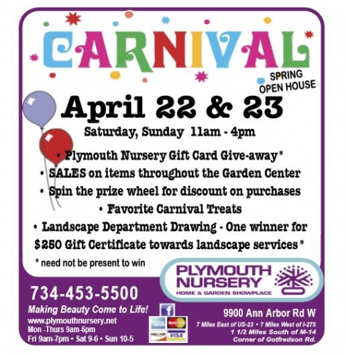 Spring Open House Carnival