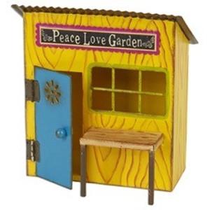 Mini Fairy Garden Potting Shed