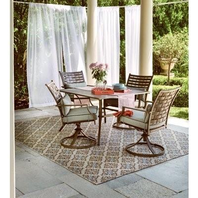 Melrosa Outdoor Dining Set, 5 Piece