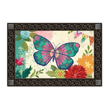 Capistrano Butterfly Door Mat by Magnet Works LTD.