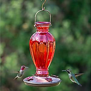 Perky Pet® Daisy Vase Vintage Hummingbird Feeder
