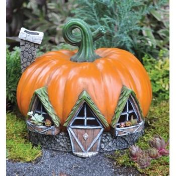 Fiddlehead Village Pumpkin House by Georgetown Home & Garden
