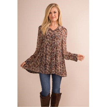 Paisley Fall Top by Simply Noelle