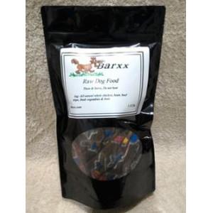 Barxx Raw Dog Food 1.5 lb. Chub