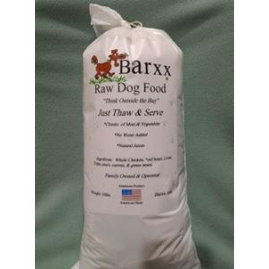 Barxx Raw Dog Food 10 lb. Chub