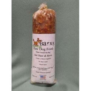 Barxx Raw Dog Food 5 lb. Chub