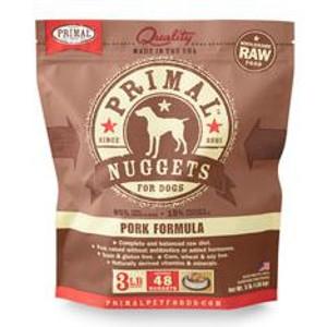 Primal Canine Pork Nuggets 3Lb