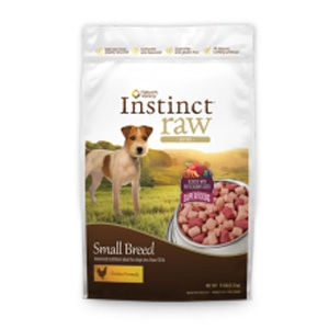 Instinct Small Breed Raw Bites for Dogs Chicken