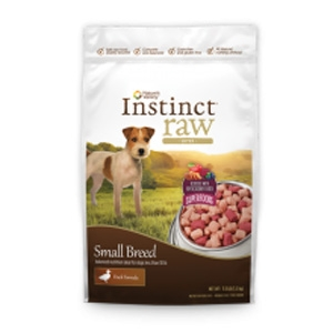 Instinct Small Breed Raw Bites for Dogs Duck
