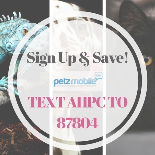 Pet Mobile: Text & SAVE