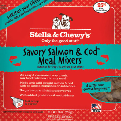 Stella & Chewy's Savory Salmon & Cod Meal Mixers