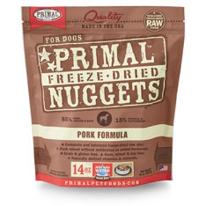 Freeze-Dried Nuggets Canine Pork Formula