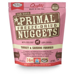 Freeze-Dried Nuggets Canine Turkey & Sardine Formula