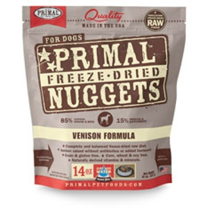 Freeze-Dried Nuggets Canine Venison Formula