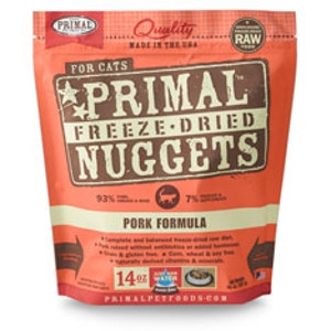 Freeze-Dried Nuggets Feline Pork Formula