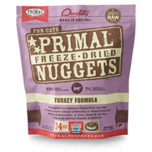 Freeze-Dried Nuggets Feline Turkey Formula