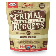 Freeze-Dried Nuggets Feline Venison Formula