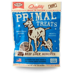 Freeze-Dried Beef Liver Munchies