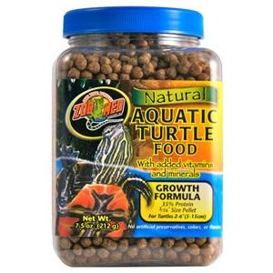 Natural Aquatic Turtle Food - Growth Formula- 1.9oz