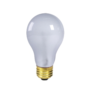 Incandescent Bulbs- Day White 100W