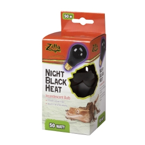Incandescent Bulbs- Night Black 50W