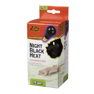 Incandescent Bulbs- Night Black 75W