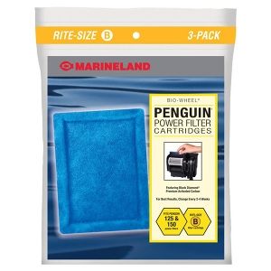 Penguin® Power Filter Replacement Filter- B 6Pack