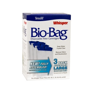 Whisper® Assembled BioBag Filter Cartridges- Large Single