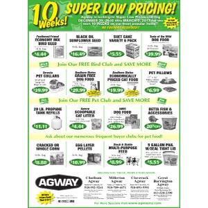 10 Weeks of Super Low Pricing!