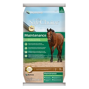 Nutrena® SafeChoice® Maintenance Horse Feed