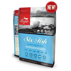 Orijen Six Fish Dry Dog Food 13lb
