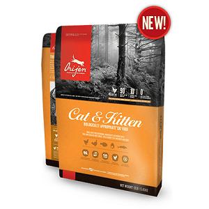 Orijen Cat & Kitten Dry Cat Food 12lb