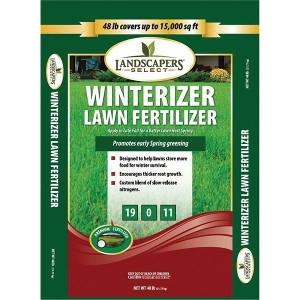 Landscapers Select Winterizer Lawn Fertilizer 48lb