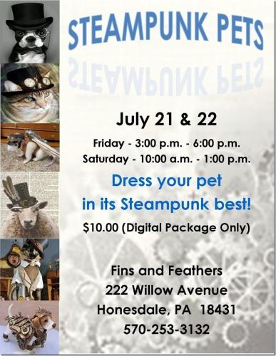 Steampunk Pets