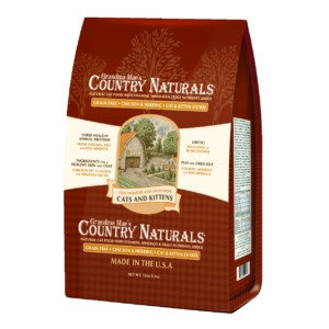 Country Naturals Grain Free Food for Cats & Kittens  12 lb.
