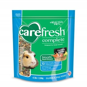 Healthy Pet Carefresh Complete Guinea Pig Food 4.5 Pound