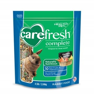 Healthy Pet Carefresh Complete Rabbit Food 4.5 Pound
