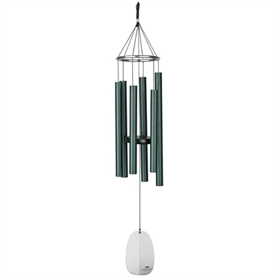 Bells of Paradise Rainforest Green Windchimes