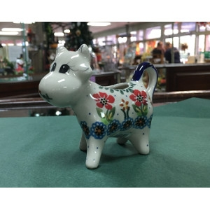 Creamer Cow by Lidia's Polish Pottery
