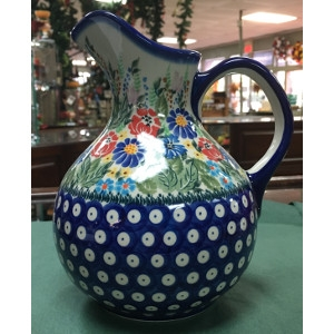 Oskar Pitcher by Lidia's Polish Pottery