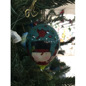 'Frosty's Excited' Ornament