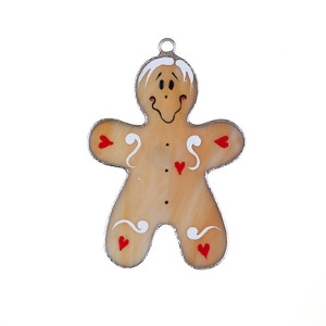 Glass Gingerbread Man Nightlight Cover
